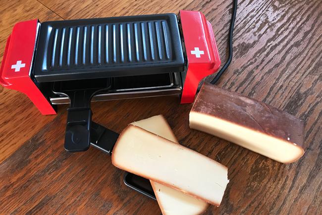 Fromage à raclettes (Fumé)